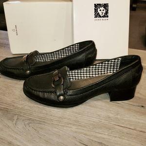 Anne Klein Iflex Dagney 9 1/2 M black loafers